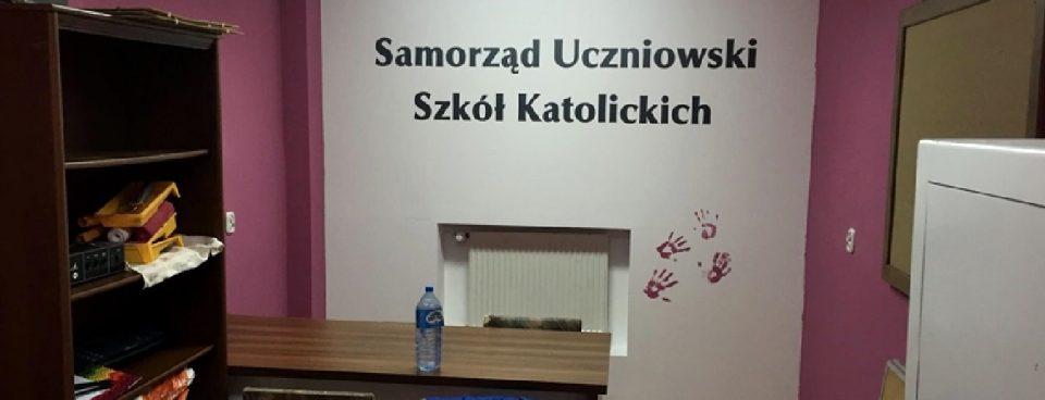 Samorząd Uczniowski wyremontował szkolny radiowęzeł