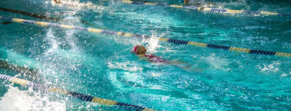 Medalowe pływanie Patrycji